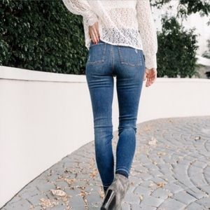 NWOT Spanks // Distressed Skinny Jeans